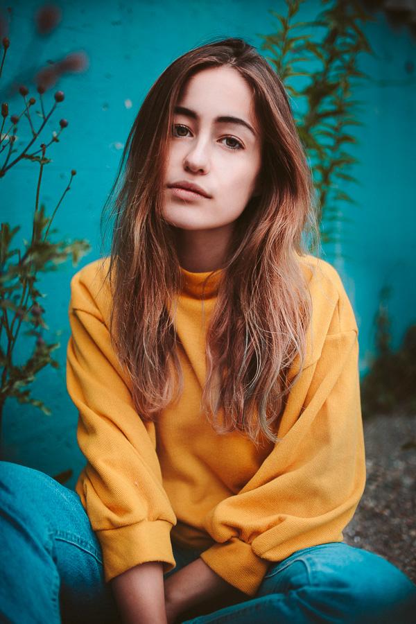 Portrait von Celin