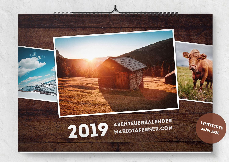 Abenteuerkalender 2019 – Mario Taferner